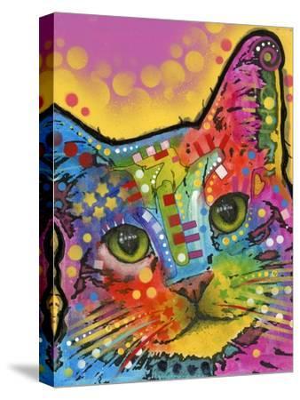 Tilt Cat-Dean Russo-Stretched Canvas Print