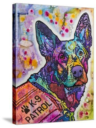 K-9 Patrol Large-003-Dean Russo-Stretched Canvas Print