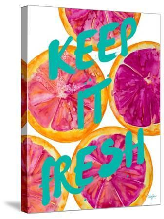 Fresh & Sweet I-Nola James-Stretched Canvas Print