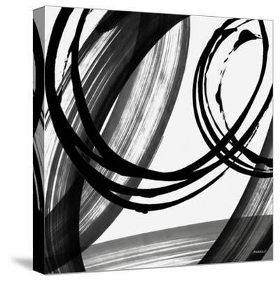 Black and White Pop I-Dan Meneely-Stretched Canvas Print