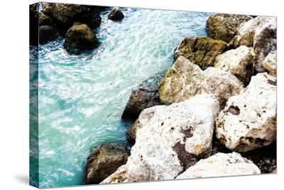 Blue By The Rocks-Acosta-Stretched Canvas Print