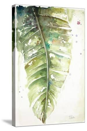 Watercolor Plantain Leaves I-Patricia Pinto-Stretched Canvas Print