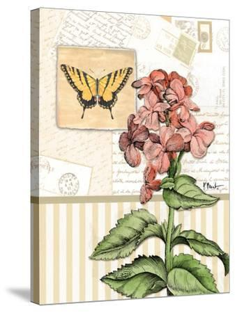 Botanical Collage I-Paul Brent-Stretched Canvas Print