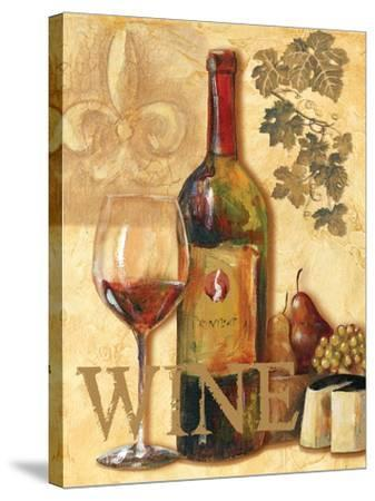 Wine III-Gregory Gorham-Stretched Canvas Print