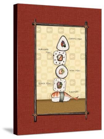Sushi I-Andrea Laliberte-Stretched Canvas Print