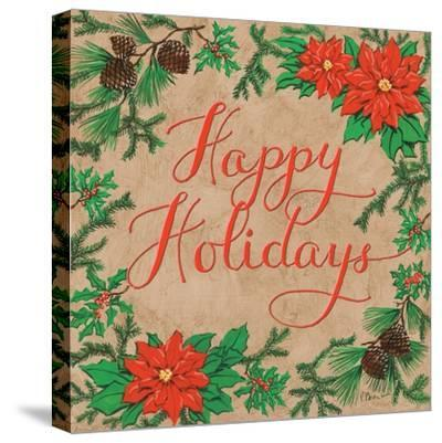 Happy Holidays-Paul Brent-Stretched Canvas Print