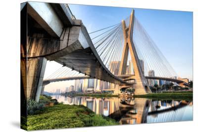 Estaiada Bridge, Sao Paulo, Brazil, South America-Thiago Leite-Stretched Canvas Print