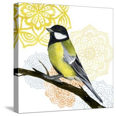 Mandala Bird III-Grace Popp-Stretched Canvas Print