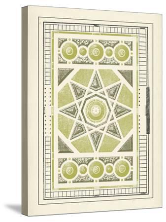 Green Garden Maze VI-J^F^ Blondel-Stretched Canvas Print