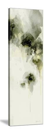 Misty Abstract Morning I-Green Lili-Stretched Canvas Print