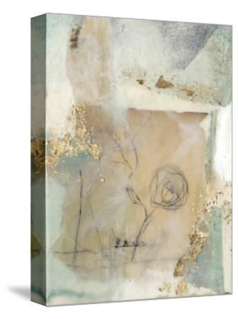Posy Collage II-Jennifer Goldberger-Stretched Canvas Print
