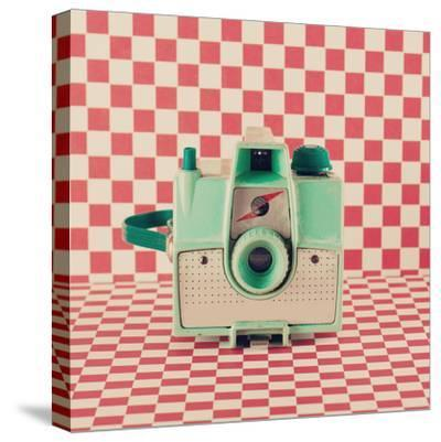 Retro Camera-Andrekart Photography-Stretched Canvas Print