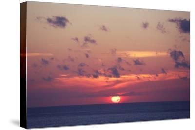 Ocean Sunrise in Indonesia- dmitry_islentev-Stretched Canvas Print