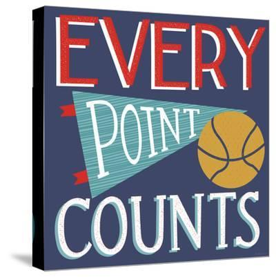 Every Point Counts-Heather Rosas-Stretched Canvas Print