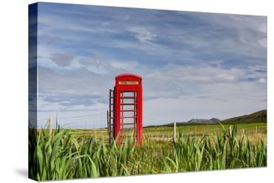 Pastoral Phone Box-Michael Blanchette Photography-Stretched Canvas Print
