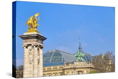 Le Grand Palais II-Cora Niele-Stretched Canvas Print