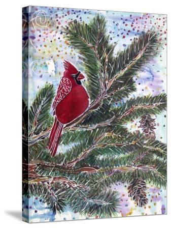 Cardinal Rule-Lauren Moss-Stretched Canvas Print