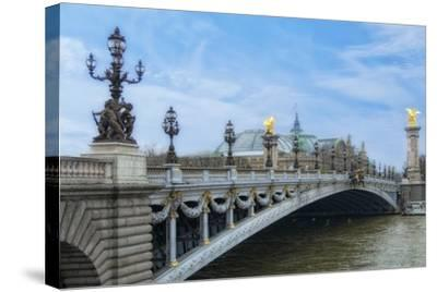 Pont Alexandre III - I-Cora Niele-Stretched Canvas Print