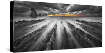 Challenge BN color-Moises Levy-Stretched Canvas Print