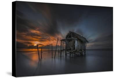 Mi Casa en el Mar-Moises Levy-Stretched Canvas Print