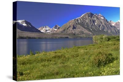 127-Glacier-2016-Gordon Semmens-Stretched Canvas Print