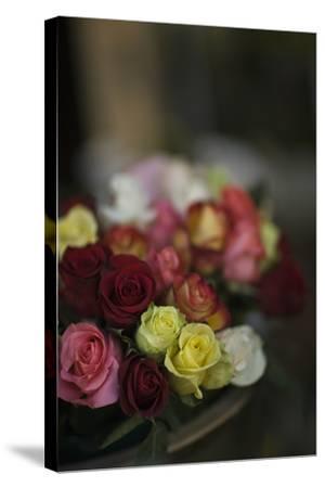 Marchand De Fleurs-Geoffrey Ansel Agrons-Stretched Canvas Print