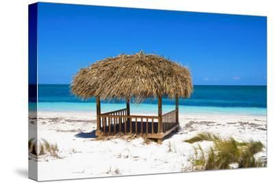 Cuba Fuerte Collection - Paradise Beach-Philippe Hugonnard-Stretched Canvas Print