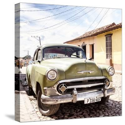 Cuba Fuerte Collection SQ - Old Cuban Chevy II-Philippe Hugonnard-Stretched Canvas Print