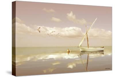 Soft Sunrise on the Beach 12-Carlos Casamayor-Stretched Canvas Print