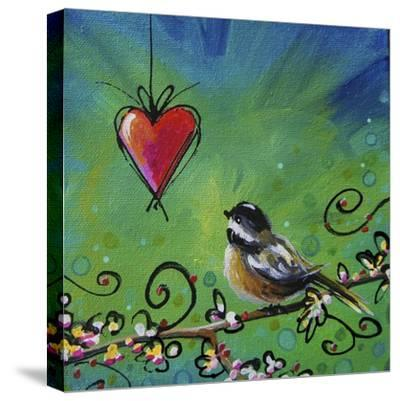 Song Bird II-Cindy Thornton-Stretched Canvas Print