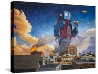 Lunchtime-Eric Joyner-Stretched Canvas Print