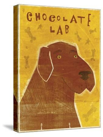 Lab (chocolate)-John W Golden-Stretched Canvas Print