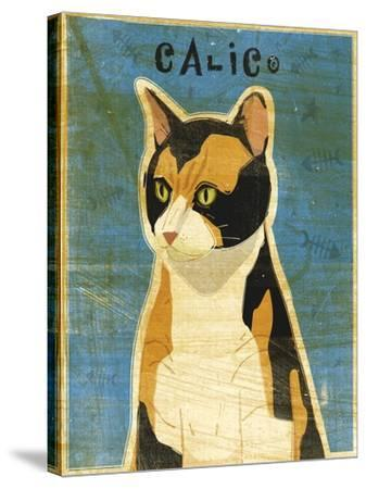 Calico-John W Golden-Stretched Canvas Print