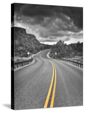 25 Miles-Janice Sullivan-Stretched Canvas Print