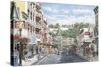 Main St.: Mackinaw-Stanton Manolakas-Stretched Canvas Print