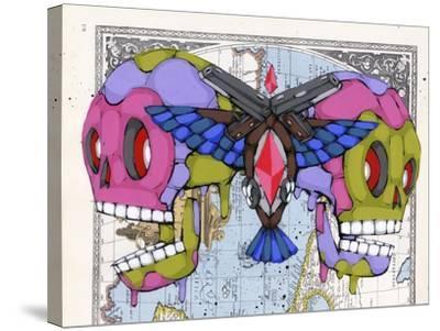 Death Grips-Ric Stultz-Stretched Canvas Print