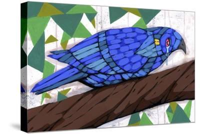 Bluest Bird-Ric Stultz-Stretched Canvas Print