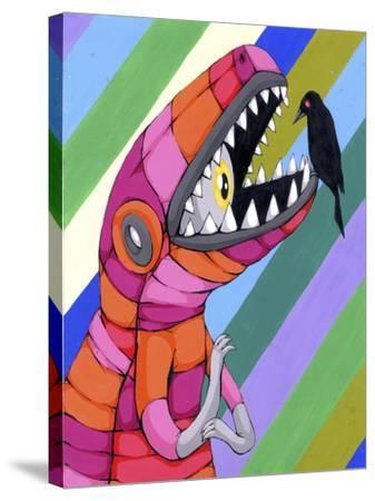 Fear Inside A Tough Exterior-Ric Stultz-Stretched Canvas Print