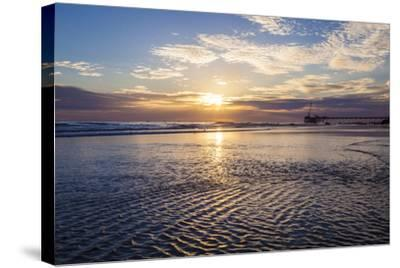 Cool Ripples-Chris Moyer-Stretched Canvas Print