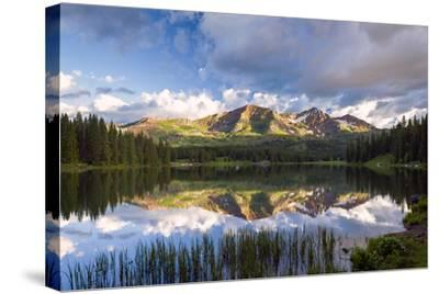Ruby Peaks-Michael Blanchette Photography-Stretched Canvas Print