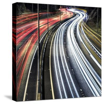 Lines And Curves-SD Smart-Stretched Canvas Print