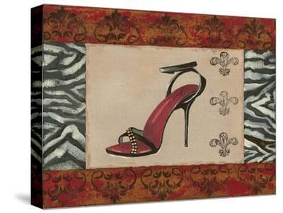 Fashion Shoe II-Sophie Devereux-Stretched Canvas Print