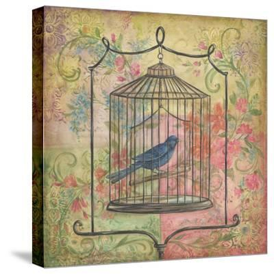 La Boheme Bird I-Kate McRostie-Stretched Canvas Print