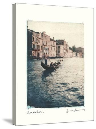 Gondolier-Amy Melious-Stretched Canvas Print