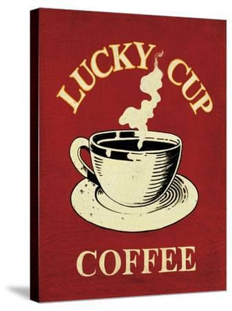 Lucky Cup-Catherine Jones-Stretched Canvas Print