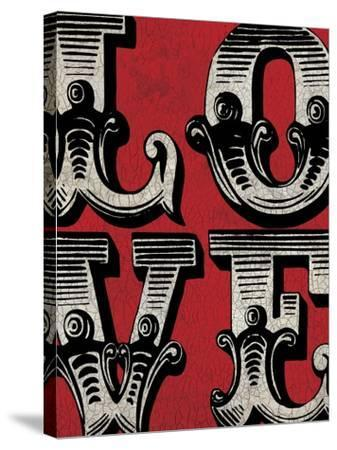 Love Sign-N^ Harbick-Stretched Canvas Print