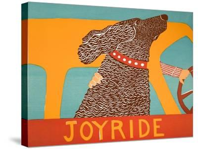 Joyride Choc-Stephen Huneck-Stretched Canvas Print