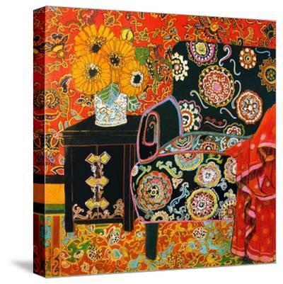 Suzani Decor-Linda Arthurs-Stretched Canvas Print