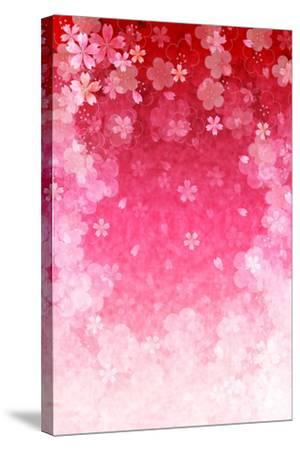 Cherry Plum Greeting Cards- JBOY-Stretched Canvas Print