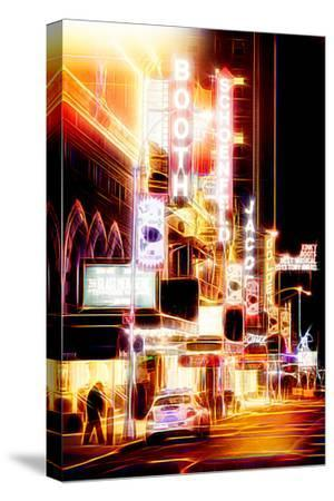 Manhattan Shine - Broadway Shows-Philippe Hugonnard-Stretched Canvas Print
